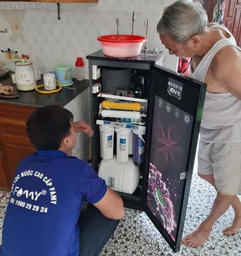 bảo hành máy lọc nước